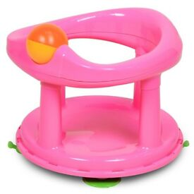 Safety swivel bath seat Pink Almost New