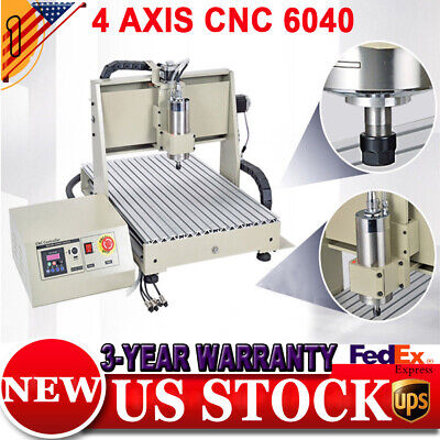 New 34axis 1.5kw 6040 Cnc Router Engraver Machine Millingdrillingcontroller