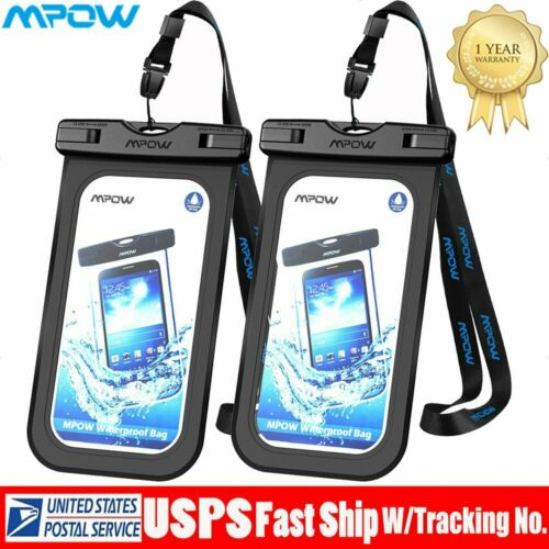 MPOW Waterproof Cell phone Bag Underwater Pouch Dry Case Pho