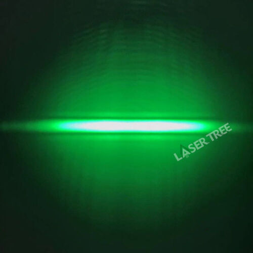 525nm 1.5W TO-5 9mm Fast Axis Corrected (FAC) Green Laser Diode, Linear Spot