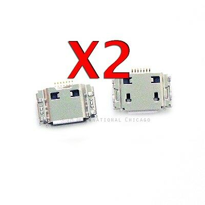 2X Samsung i9003 i997 T959 T959V Micro Charging Port USB Charger Dock Connector, used for sale  Shipping to India