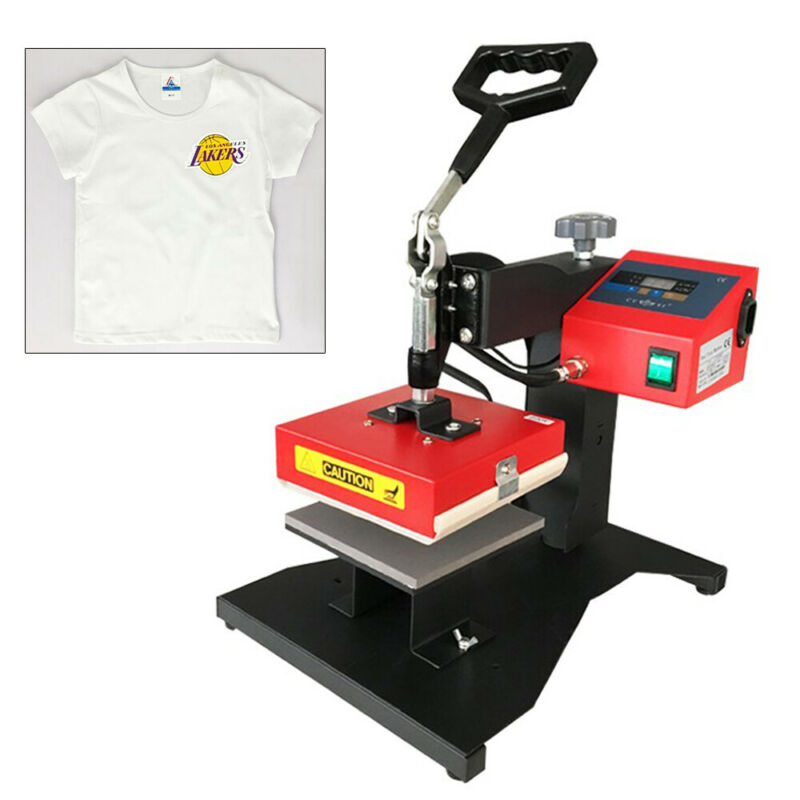 Heat Press Machine Digital Transfer Sublimation T-Shirt Mouse Pad 5.9