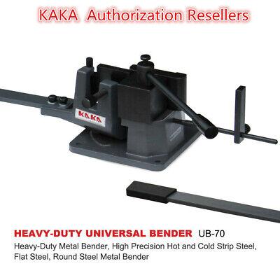 Kakaind Ub-70 Universal Bender 2-34-in Cast-iron Hot Cold Metal Bar Bender