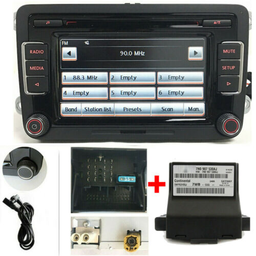 VW Autoradio RCD510 mit Gateway/CANBUS USB AUX GOLF,JETTA,CADDY,TIGUAN,CC,TOURAN
