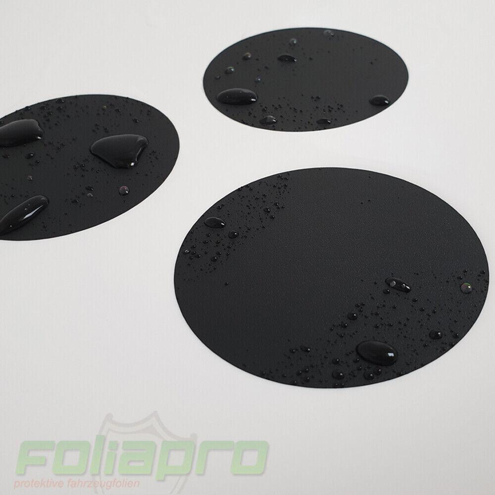 12x Anti-Rutsch Aufkleber Badewanne Dusche Antirutsch Sticker Rund schwarz