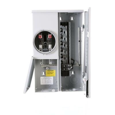 New Siemens 100 Amp Main Breaker Load Center Meter Combo 120240v Mc1224b1100esc