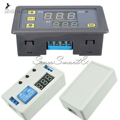 12v Led Automation Cycle Timer Delay Dual Display Control Switch Relay Module Se