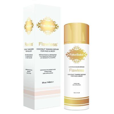 Fake Bake Flawless Coconut Tanning Serum for Face and Body 5 oz