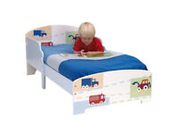 BOYS VEHICLES TODDLER BED 18 MONTHS +