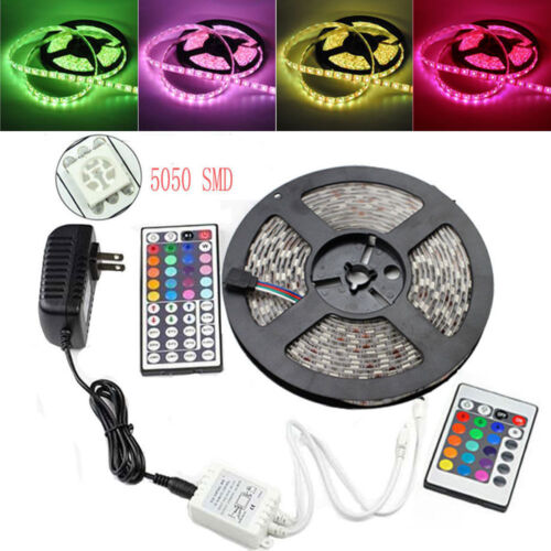 5M 5050 RGB 300LED SMD Flexible Light ...