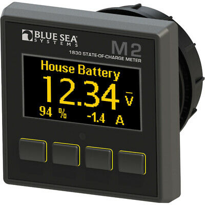 Blue Sea Systems 1830 Digtal Meter M2 Oled State Of Charge Blue Sea Meter