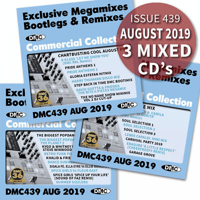 DMC Commercial Collection Issue 439 Bootleg Remix & Megamix DJ Double Music  CD