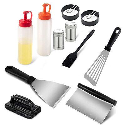 17PCS Griddle Barbecue Tools BBQ Tools Barbecue DIY Teppanyaki Grill Cook