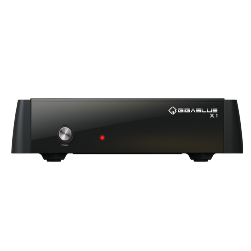 GigaBlue HD X1 Linux Full HD Sat Receiver Schwarz Linux E2 PVR e-SATA