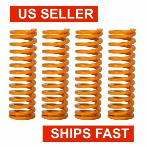 4x Heated Bed Leveling Compression Springs Creality 3D Ender 3 / Pro / Etc
