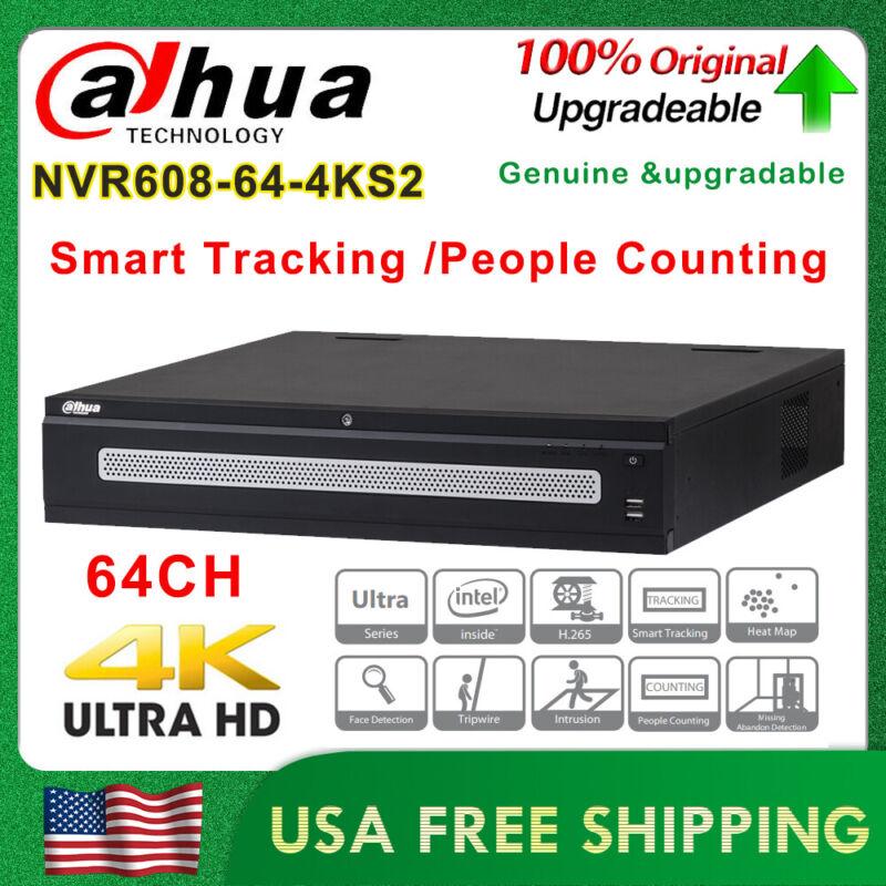 Dahua DH-NVR608-64-4KS2 64CH Ultra 4K Smart Tracking 12MP Network Video Recorder