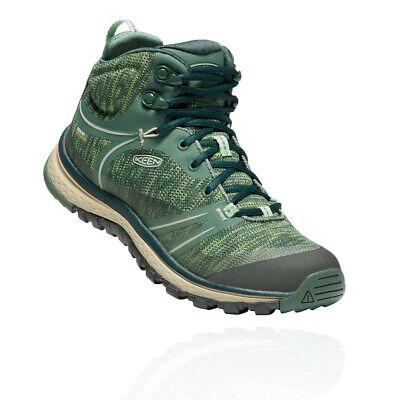 Keen Womens Terradora Mid Waterproof Walking Boots Green Sports Outdoors