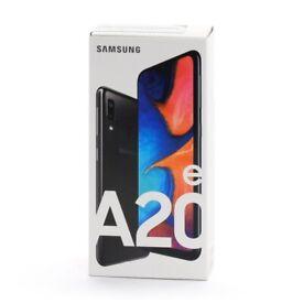 Samsung Galaxy A20e - 32GB -4G Black(Unlocked) (Dual SIM) UK Version WARRANTY SEALED