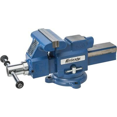 Grizzly T28133 5 Quick-action Bench Vise With Anvil