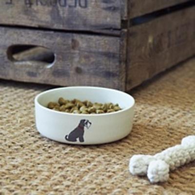 Schnauzer Dog Bowl Gift/Present