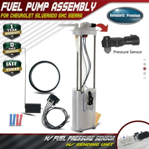 Fuel Pump Assembly with Sensor for Chevy Silverado GMC Sierra 1500 2500 E3500M
