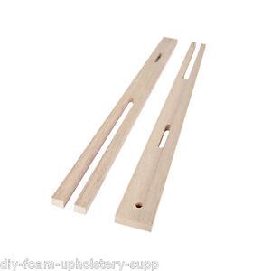 1 Pair headboard struts legs QUALITY HARDWOOD legs drilled & slotted MULTI FIX