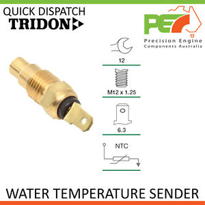 Genuine * TRIDON * Water Temperature Sender For Nissan Patrol - Diesel GQ-Turbo