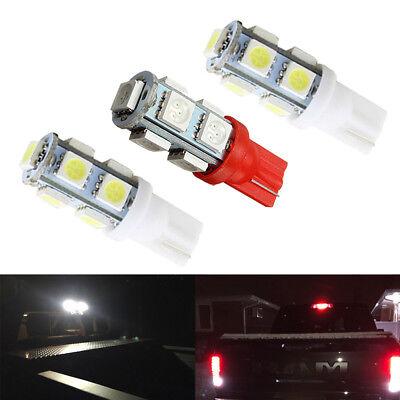 2 White 1 Red 912 921 LED Cargo 3rd Brake Light Bulbs for 1997 2018 F150 F250