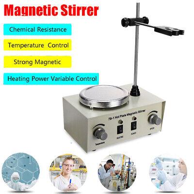 Hot Plate Magnetic Stirrermixer Laboratory Speedtemperature Adjustable 79-1