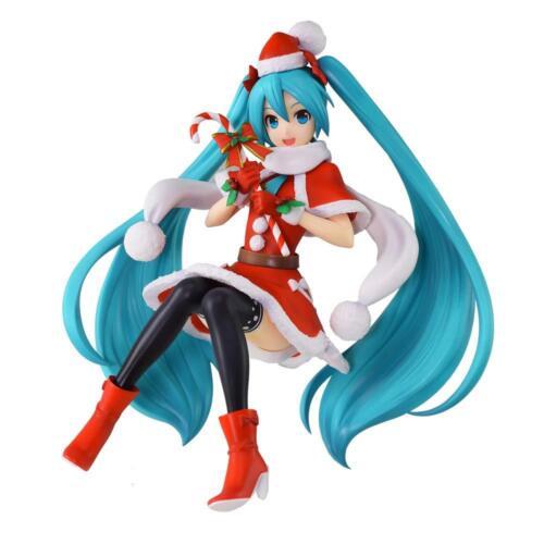 Sega Prize Hatsune Miku Series Super Premium Figure SPM Miku Christmas 2018 NEW