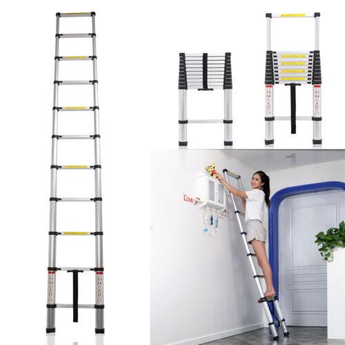 Midland Extendable Aluminum Ladders : M new multi purpose aluminium telescopic ladder