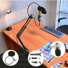 BM-800 Profi Voilamart Kondensatormikrofon Mikrofonarm Studio Set Kit Komplett
