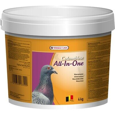 4KG - Versele Laga Colombine All-In-One - Pigeon Food with Grit & Redstone VL992