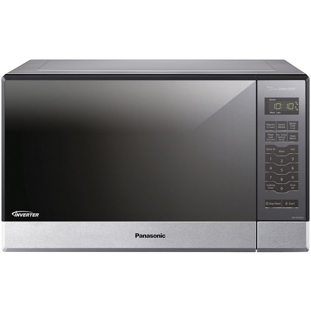 Panasonic NN-SN686SR 1.2 Cu Ft 1200 watt Built-In Countertop