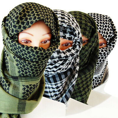 100% Cotton Patterned Dust Shield Head Neck Face Cover Scarf Wrap Bandana Unisex Neck Scarf Patterns