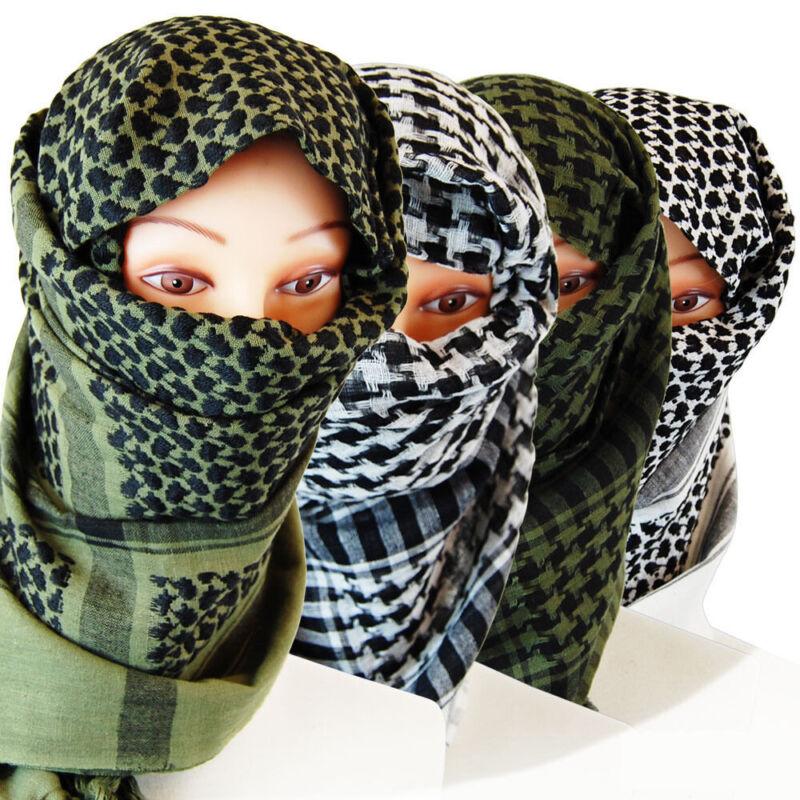100% Cotton Patterned Dust Shield Head Neck Face Cover Scarf Wrap Bandana Unisex