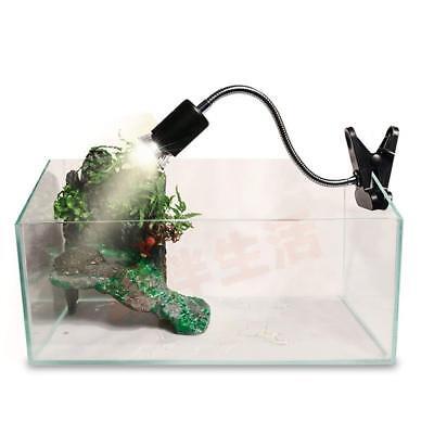 UVA UVB Flexible Clamp Lamp Holder - Reptile Terrarium Clip On Light Fixture