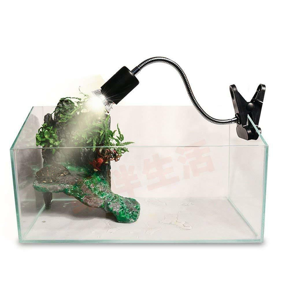 UVA UVB Flexible Clamp Lamp Holder - Reptile Terrarium Clip On Light Fixture  - $9.99