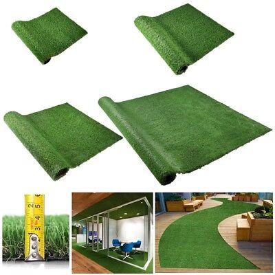 Artificial Grass Fake Lawn Synthetic Green Grass Floor Mat Turf Garden - Green Grass Mats