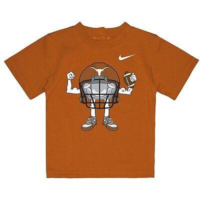 NIKE Texas Longhorns Football INFANT BABY NEWBORN Jersey Shirt 12M 12 Months
