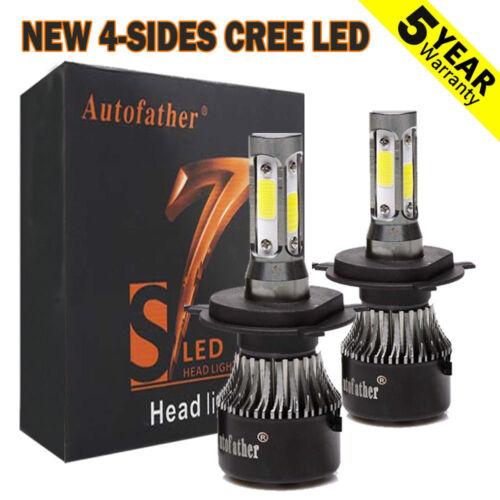 Car Parts - H4 9003 HB2 LED Headlight Bulb Light Hi/Lo Beam Kit 6500K VS Xenon HID White 2Pc