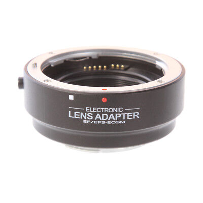 Auto Focus AF Lens Adapter for Canon EF EF-S to EOS M EF-M Mount M3 M5 M6 M10 US