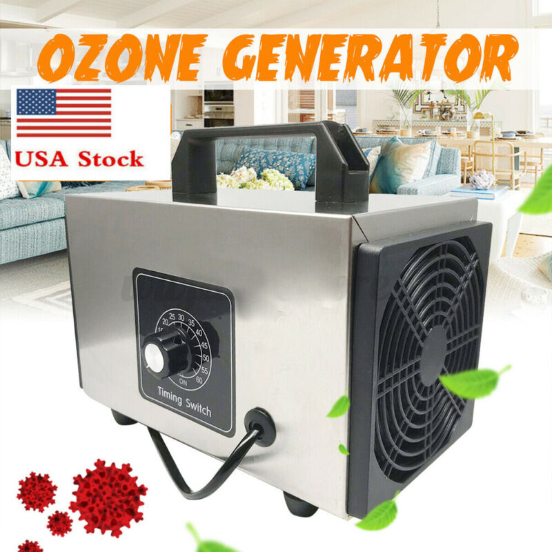 Ozone Generator Machine Air Purifier Mold Control Home Commercial Odor 20g/h