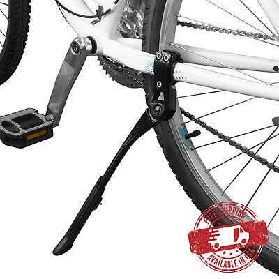 "BV Bike Kickstand Rear Adjustable Bicycle Aluminum Side Stand 24-29"" NEW KA70-BK"