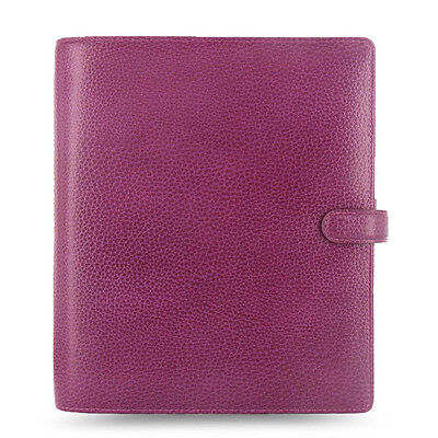 Filofax A5 Size Finsbury Organiser Planner Diary Raspberry Leather - 025371 Gift