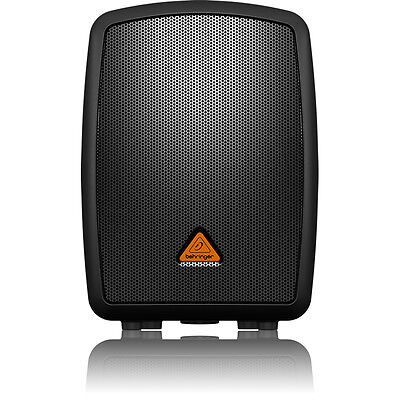 - Behringer MPA40BT Complete PA Speaker System + 4-Ch Mixer Bluetooth Connectivity
