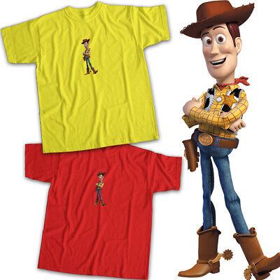 Woody Cowboy Shirt (Toy Story 2 3 Sheriff Woody Cowboy Friend Pixar Disney Movie Unisex Tee)