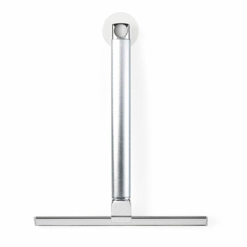 Better Living ALTO Extendable Aluminum Shower Squeegee, Silver Chrome (Open Box)