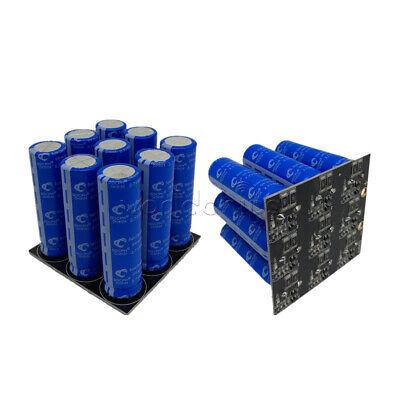 11f 24.3v 2.7v 100f Farad Capacitor Super Capacitor With Protection Board 9pcs