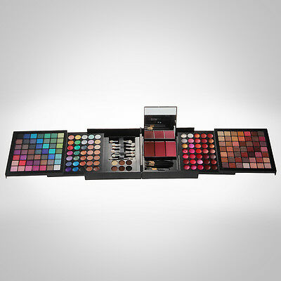 Pro 177 Colors Eyeshadow Palette Makeup Blush Lip Gloss Set Kit Beauty Cosmetic